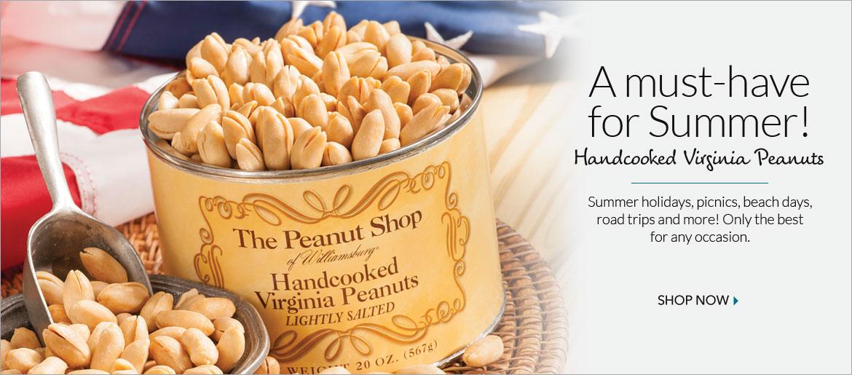 Lightly Salted Peanuts - The Peanut Shop of Williamsburg