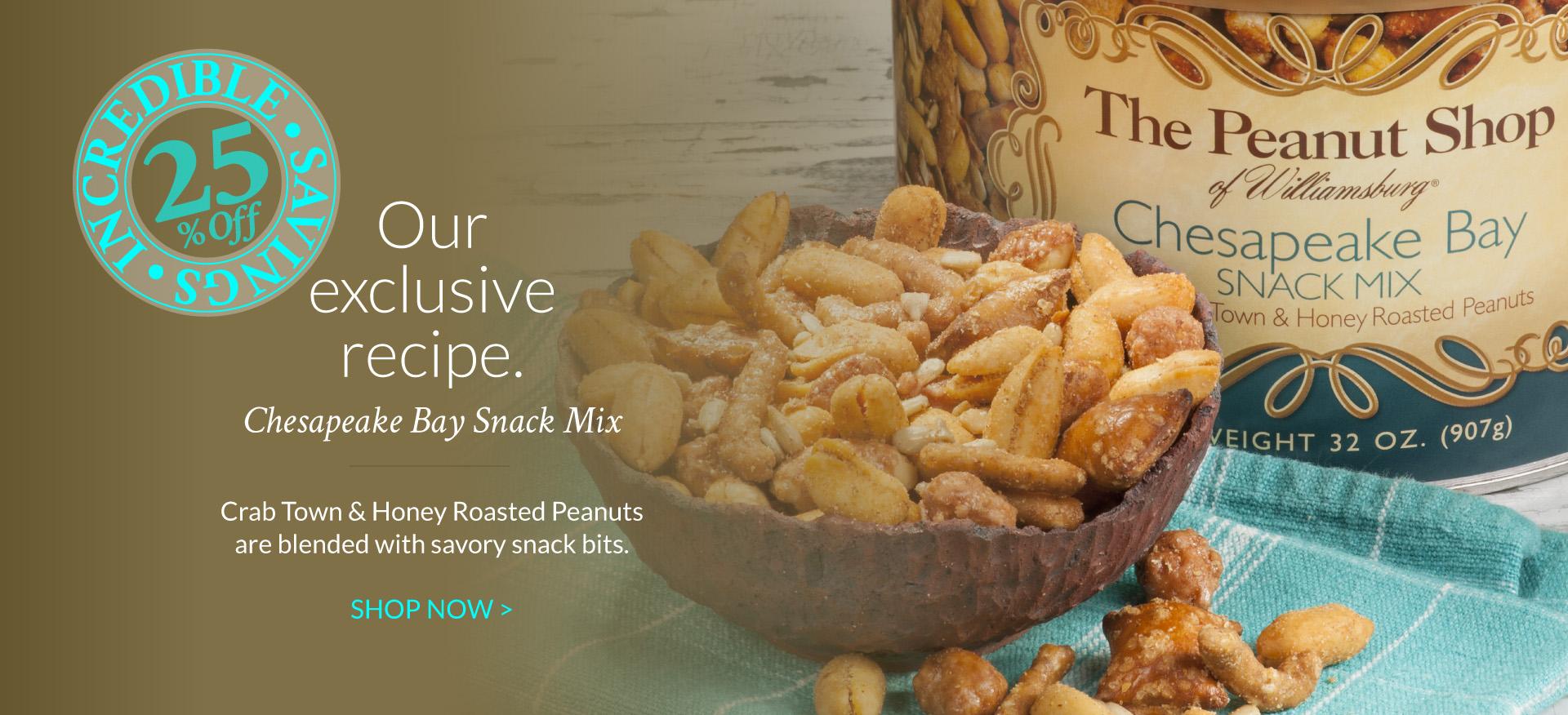 Chesapeake Bay Snack Mix