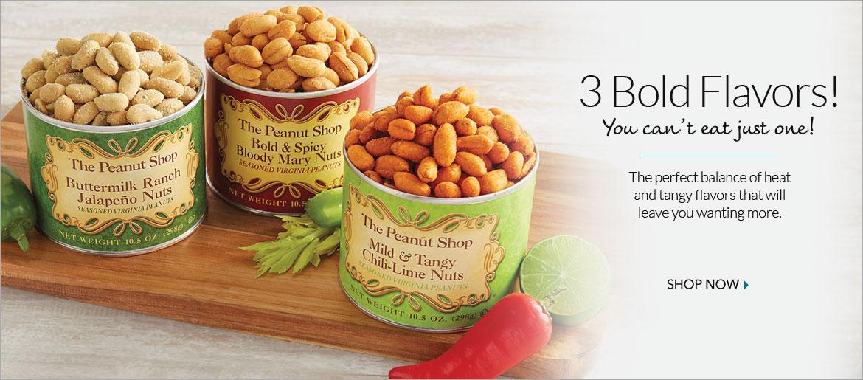 Seasoned Peanuts - The Peanut Shop of Williamsburg