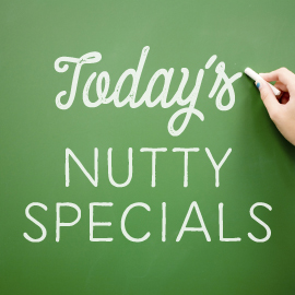 Save 25% on select seasoned nuts - The Peanut Shop of Williamsburg