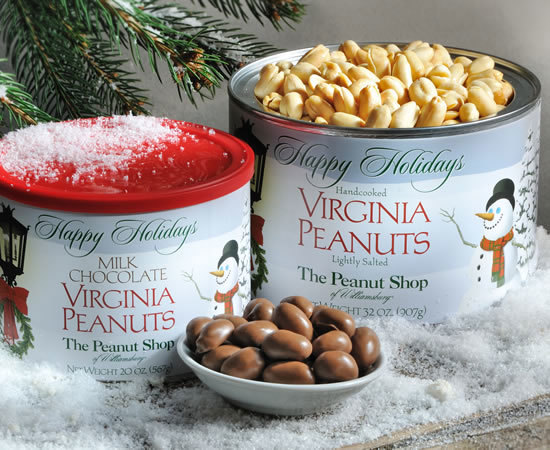 Holiday Snowfall Virginia Peanuts
