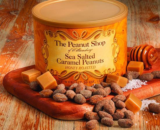 Honey Roasted Sea Salted Caramel Peanuts