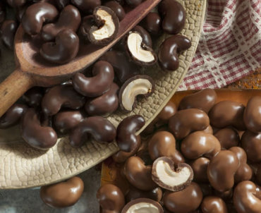Dark & Milk Chocolate Covered Cashews - The Peanut Shop of Williamsburg