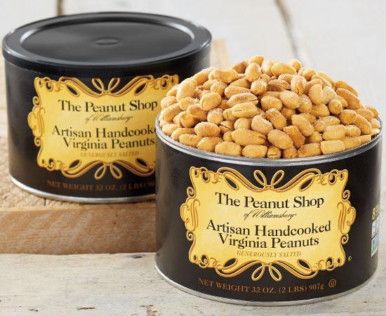 Artisan Handcooked Virginia Peanuts