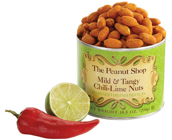 Mild & Tangy Chili Lime Peanuts - IMMEDIATE SHIP
