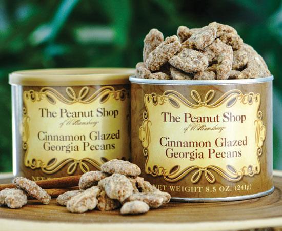 Cinnamon Glazed Georgia Pecans