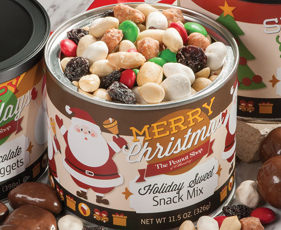 Retro Holiday Sweet Snack Mix