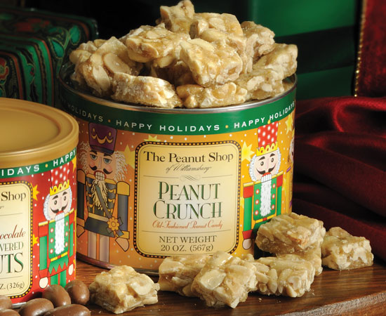 Nutcracker Peanut Crunch