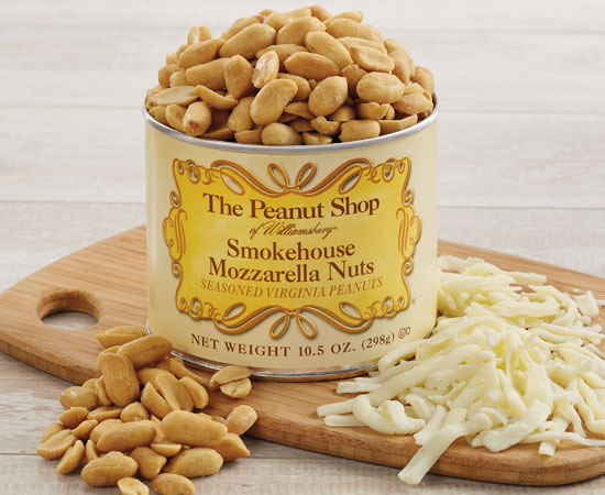 NEW! Smokehouse Mozzarella Peanuts