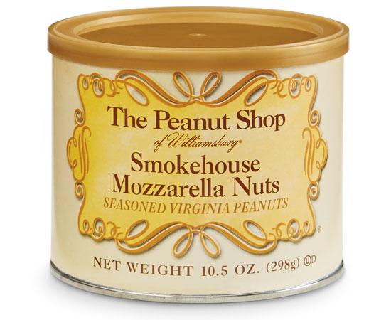 Smokehouse Mozzarella Nuts Can