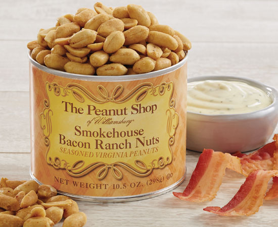 NEW! Smokehouse Bacon Ranch Peanuts