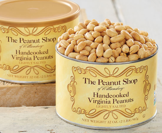 Handcooked Lightly Salted Virginia Peanuts