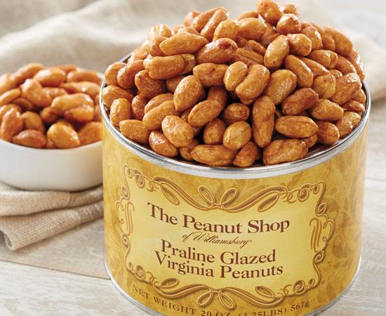 Praline Glazed Peanuts