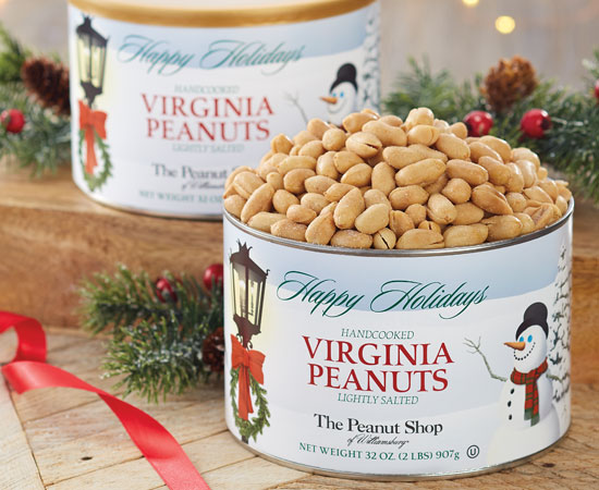 Holiday Snowfall Virginia Peanuts 2-PK