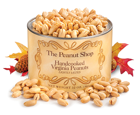 Handcooked Virginia Peanuts, Autumn - The Peanut Shop of Williamsburg