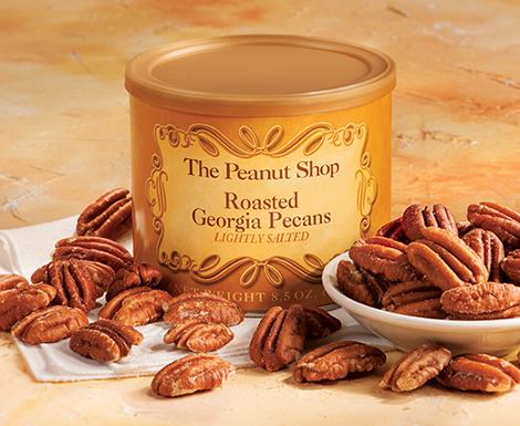 Roasted and Salted Pecans - The Peanut Shop