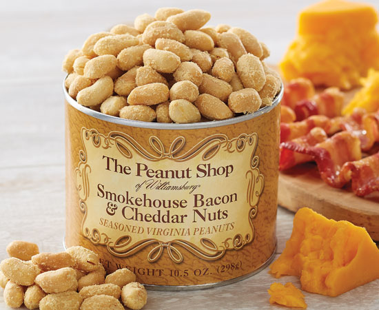 Bacon & Cheddar Nuts
