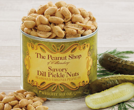 Savory Dill Pickle Nuts 10.5 OZ