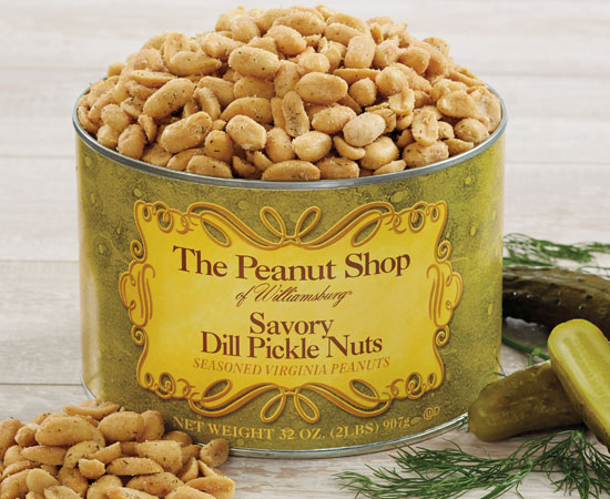 Savory Dill Pickle Nuts 32 OZ