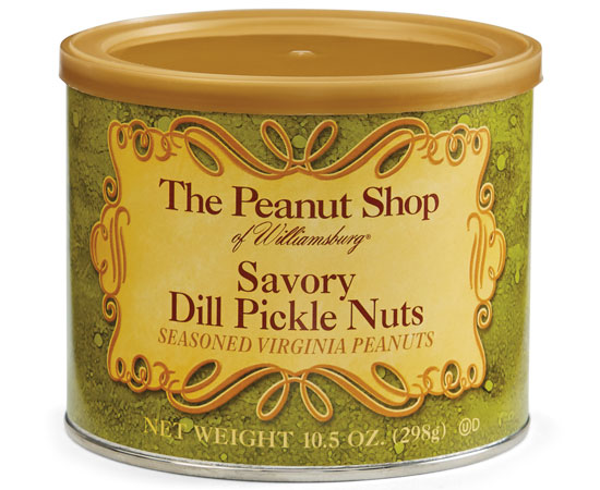 Savory Dill Pickle Nuts 10.5 Can