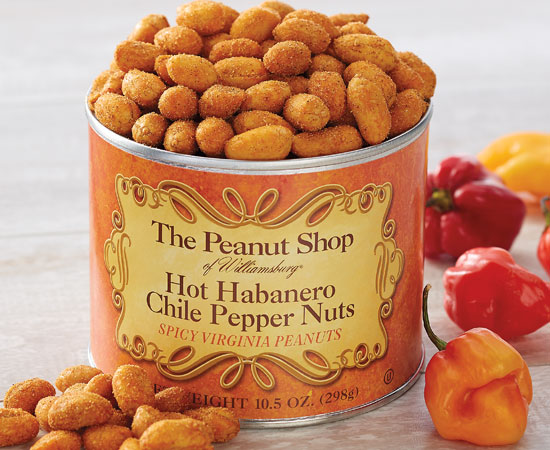 Hot Habanero Chile Pepper Nuts
