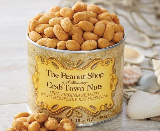 Crab Town Nuts With Chesapeake Bay Seasoning