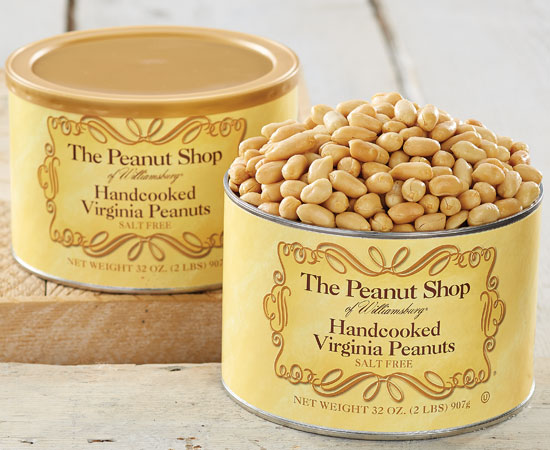Handcooked Unsalted Virginia Peanuts