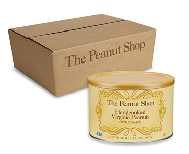 Lightly Salted Handcooked Virginia Peanuts Case Packs
