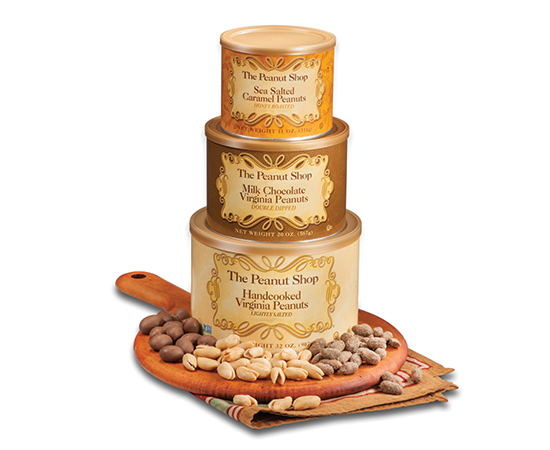 The Deluxe Peanut Tower