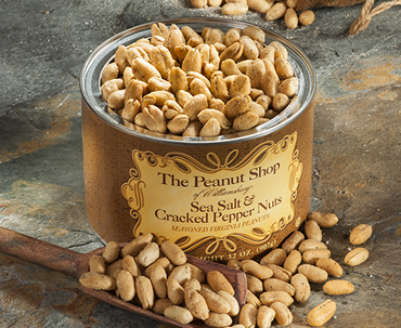 Sea Salt and Cracked Pepper Nuts