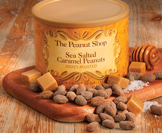 Honey Roasted Sea Salted Caramel Peanuts