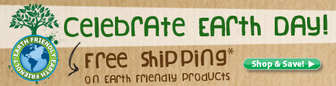 Celebrate Earth Day with FREE Shipping on Pond Logic® Earth Friendly Products