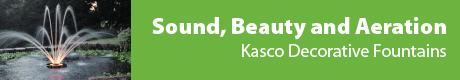 Kasco Decorative Fountains - Sound, Beauty & Aeration