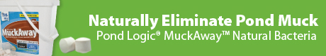 Pond Logic® MuckAway™ - Naturally Eliminate Pond Muck