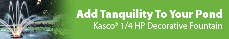 Kasco Fountains - Add Tranquility To Your Pond