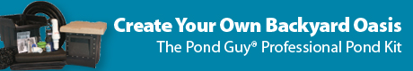 The Pond Guy Professional Pond Kits - Create Your Own Backyard Oasis