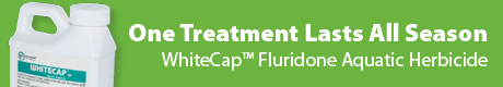 WhiteCap Fluridone Aquatic Herbicide - One Treatment Lasts All Season