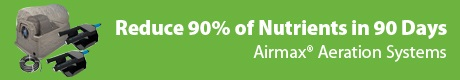 Airmax® Aeration Systems - Reduce 90 Percent of Nutrients in 90 Days