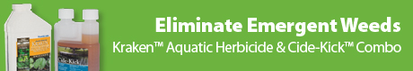 Kraken™ Aquatic Herbicide & Cide-Kick™ Combo - Eliminate Emergent Weeds