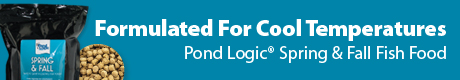 Pond Logic® Spring & Fall Fish Food - Formulated For Cool Temperatures