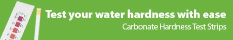 Carbonate Hardness Test Strips - Test Your Water Hardness With Ease