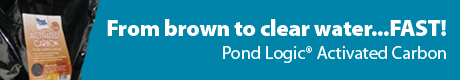 Pond Logic® Activated Carbon - From Brown To Clear Water...FAST!