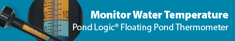 Pond Logic® Floating Thermometer - Monitor Water Temperature