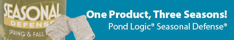 One Product, Three Seasons! - Pond Logic® Seasonal Defense®