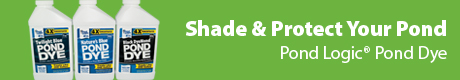 Shade & Protect Your Pond - Pond Logic® Pond Dye