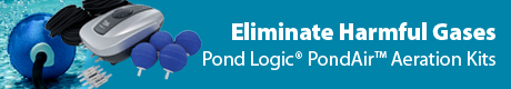 Eliminate Harmful Gases - Pond Logic® PondAir™ Aeration Kits