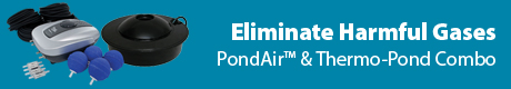 Eliminate Harmful Gases - Airmax® PondAir™ & Thermo-Pond Combo
