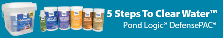 5 Steps to Clear Water - Pond Logic® DefensePAC®