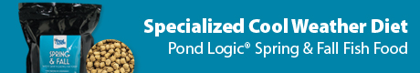 Specialized Cool Weather Diet - Pond Logic® Spring & Fall Fish Food
