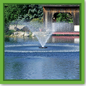 Q: I love the look of a fountain but does it provide sufficient aeration for my pond?